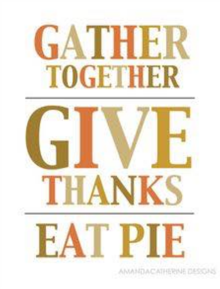 order thanksgiving pies today!